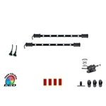 "LED RGB Multicolor Replacement Expansion Light Bars for CYRON ""HTP"" Systems Only, 2 x 15 Inch LED Bars with 5 or 15 feet Cord"