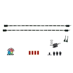 "LED RGB Multicolor 2 x 25 Inch Replacement Expansion Light Bars for CYRON ""HTP"" Systems Only, 5 or 15 feet Cord"