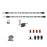 "LED RGB Multicolor 2 x 15 Inch Replacement Expansion Light Bars for CYRON ""HTP"" Systems Only, 5 or 15 feet Cord"