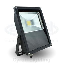 Flood Light, Indoor/Outdoor LED, White 50W